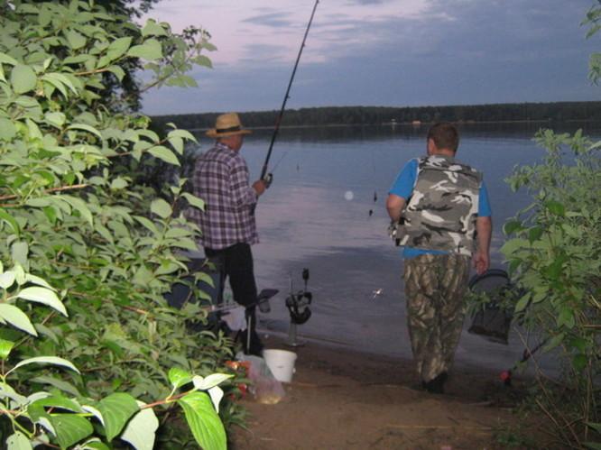 рыболовная база истринского водохранилища