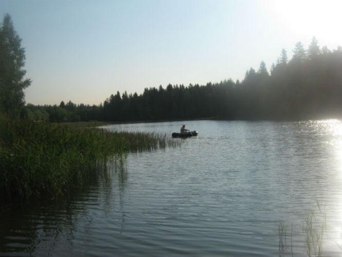 рыбалка в поселке северный истринского района